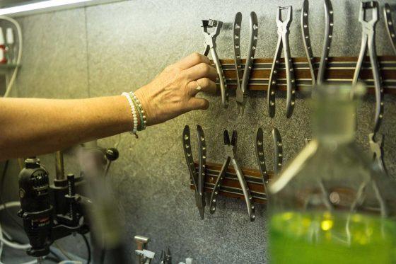 Werkzeug im Optiker-Fachgeschäft in Mainz Gonsenheim