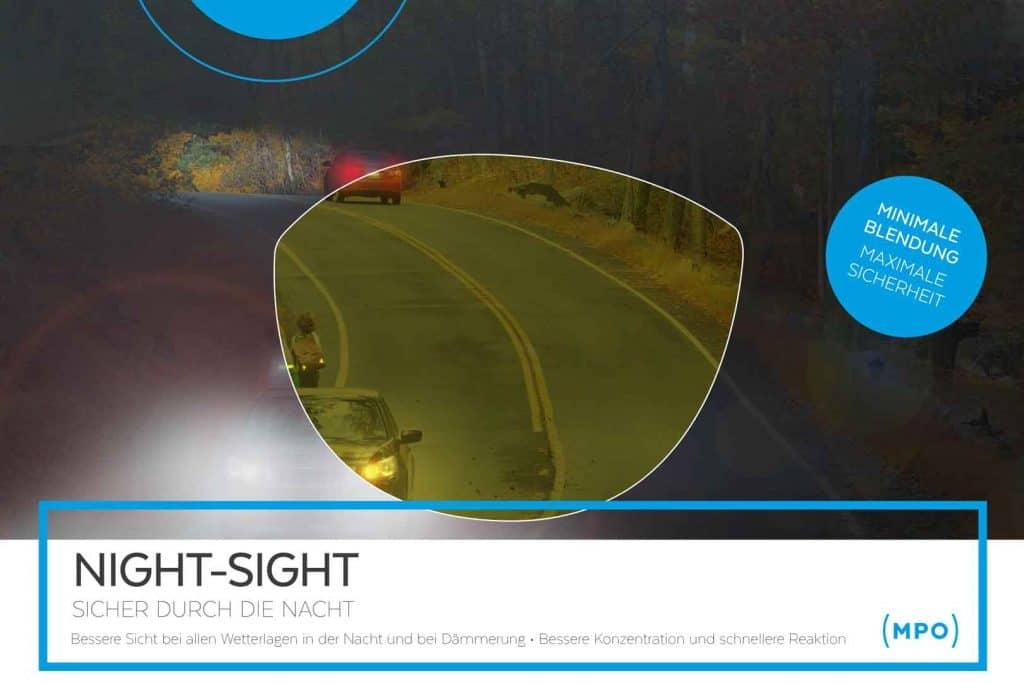 Nachtsichtgläser (Night-Sight) von MPO, jetzt erhältlich bei Sehkomfort Schöne Aussicht