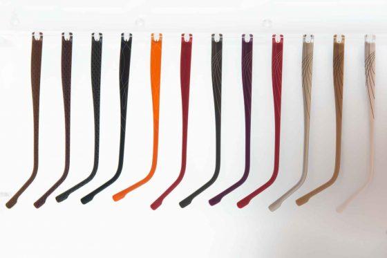 Brillenbügel zur Auswahl in verschiedenen Farben