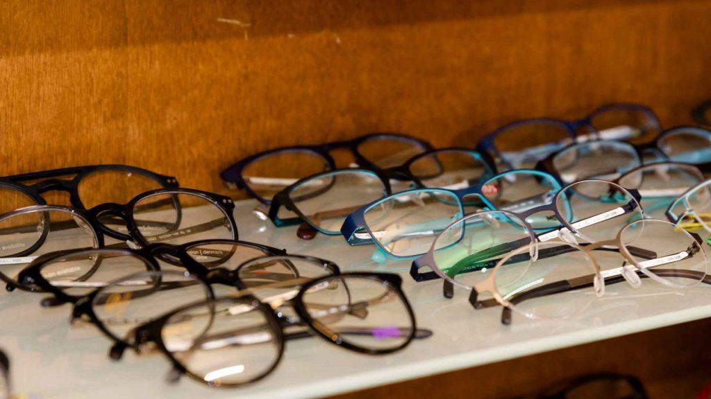 Neue Brillenfassungen bei Sehkomfort Schöne Aussicht